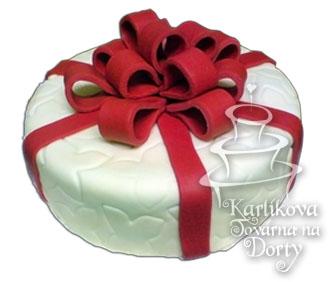 Narozeninové dorty – dort dáreček n25